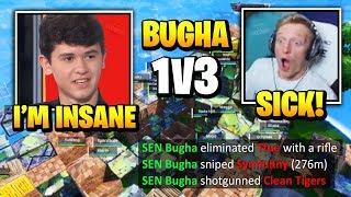 Bugha *INSANE* 1V3 Against PRO PLAYERS In Fortnite Championship Series ($10,000,000 Tournament)