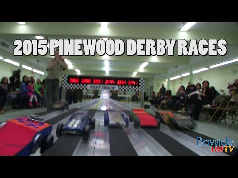 2015 Pinewood Derby Races