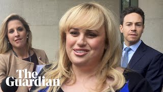 'Case about fighting a bully, not money,' says Rebel Wilson