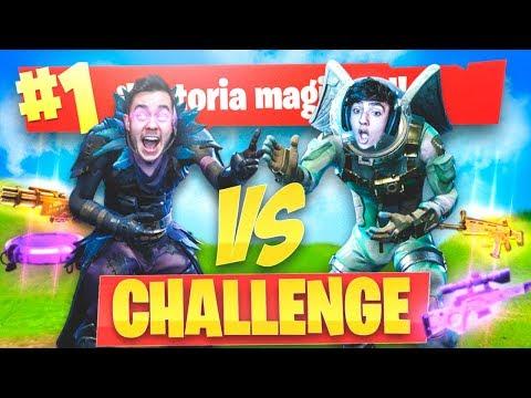 PIEDRA PAPEL O TIJERAS CHALLENGE de FORTNITE: Battle Royale!! - Agustin51