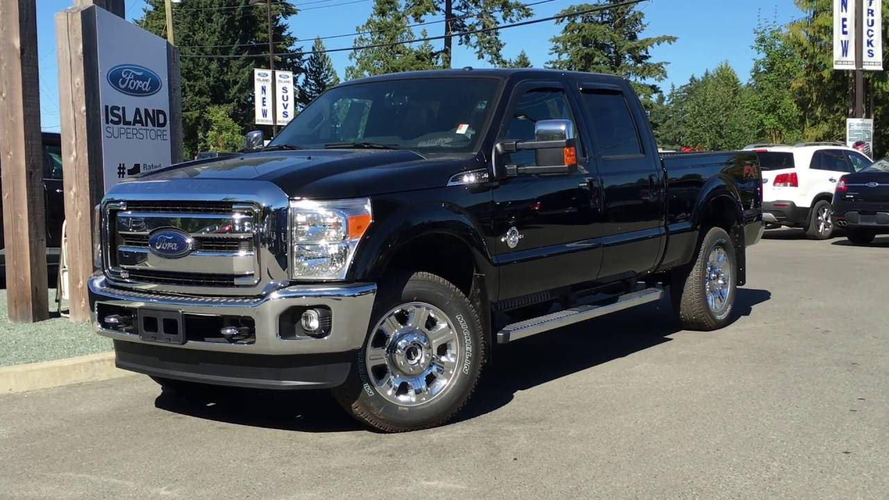 2016 Ford Super Duty F 350 Lariat W Spray In Bed Liner Tailgate Step Review Island You