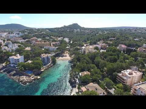 Santa Ponsa Calvià Majorca Spain Drone Summer 2017