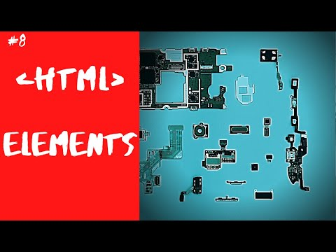 HTML TUTORIAL FOR BEGINNERS - 3- HTML ELEMENTS EXPLAINED #htmlelementsexplained #html5elements thumbnail