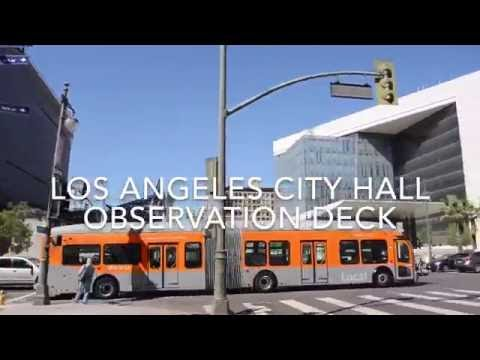 Los Angeles City Hall Observation Deck VLOG 072216