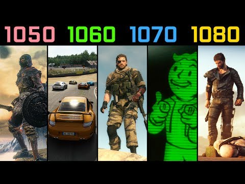 GTX 1050 Ti vs. GTX 1060 vs. GTX 1070 vs. GTX 1080 | Test in 5 Games