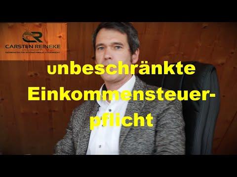 Arten der unbeschränkten Einkommensteuerpflicht in Deutschland