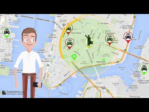Taxi software - Radial vehicle search