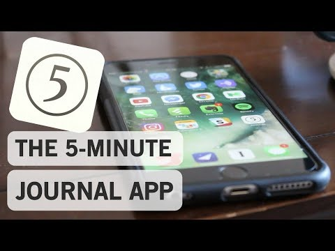 The 5-Minute Journal App | My Full Review