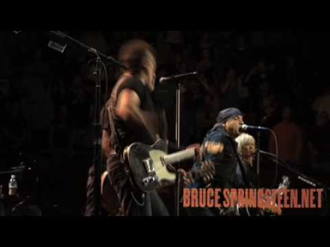 Bruce Springsteen - Bad Luck - Live from Los Angeles - With Mike Ness from Social Distortion - 2009