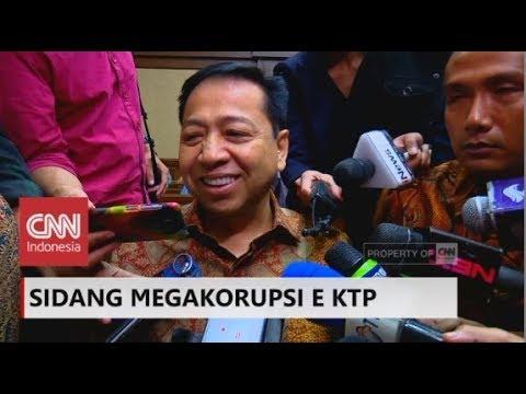 Setya Novanto: Nazzarudin Banyak Bohongnya ; Sidang Korupsi E-KTP