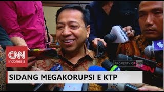 Setya Novanto: Nazaruddin Banyak Bohongnya ; Sidang Korupsi E-KTP
