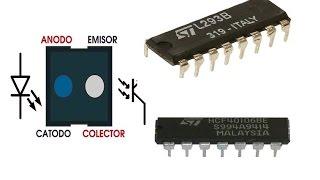 Tutorial: L293B , IC40106 y el sensor CNY70.