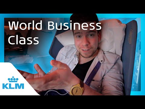 KLM Intern On A Mission - World Business Class
