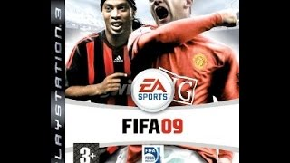 FIFA 09 PS3 Real Madrid vs Barcelona