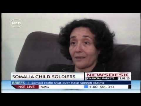 UN Envoy discourage Somalia children soldiers
