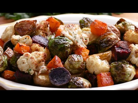 How To Roast Vegetables • Tasty