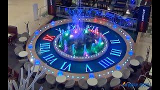 """Фонтан """"Часы"""" в торговом центре Европейский thumbnail"""
