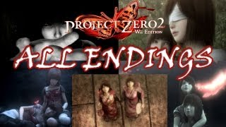 Fatal Frame 2/Project Zero 2 (Wii) All Endings + Walkthrough