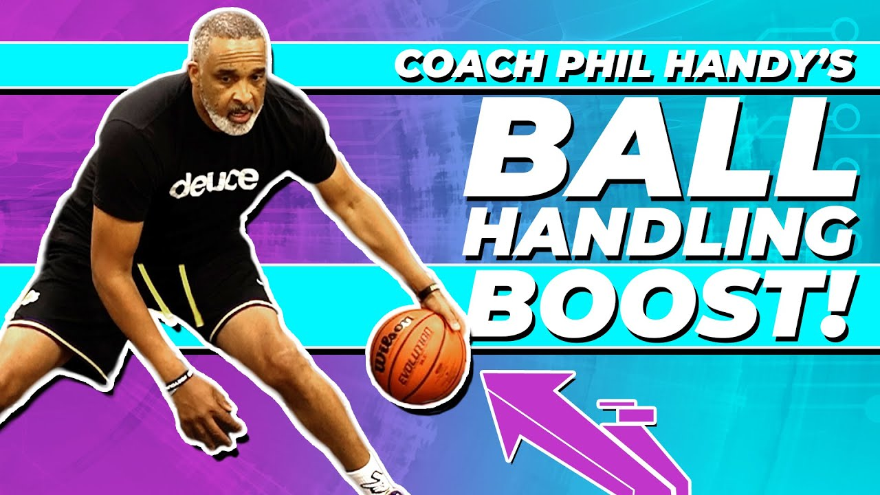 INTENSE AT HOME Dribbling Workout with LA LAKERS Coach! ?