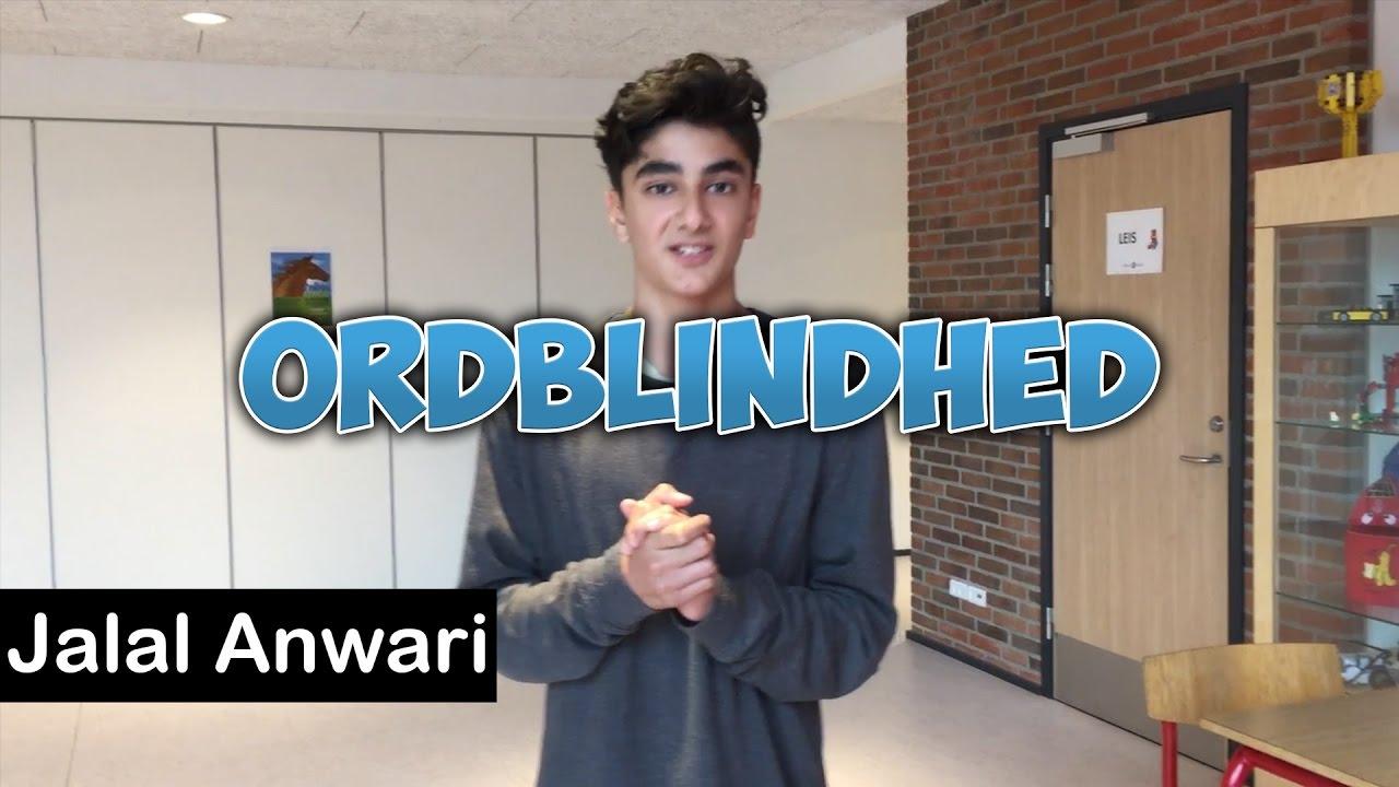 Skoleprojekt omkring ordblindhed | Jalal Anwari