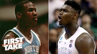 Is not drafting Zion like passing on Michael Jordan? | First Take