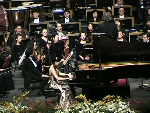 Part1, Concerto Hungarian Fantasy for Piano and Orchestra of F. Liszt / Anny Hwang