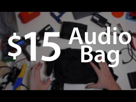 DIY Audio bag, Hack a $15 bag into the perfect audio film kit - DSLR FILM NOOB