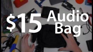 Video DIY Audio bag, Hack a $15 bag into the perfect audio film kit - DSLR FILM NOOB download MP3, 3GP, MP4, WEBM, AVI, FLV Agustus 2018