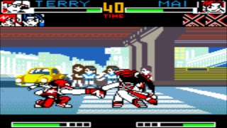 kING OF FIGHTERS R2  NEO GEO POCKET  (GAME PLAY)