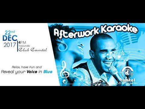 Afterwork Karaoke - Camtel 2017