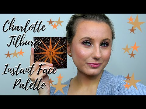 NEW CHARLOTTE TILBURY 2019 INSTANT LOOK IN A PALETTE GORGEOUS, GLOWING BEAUTY