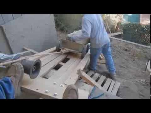 capstan winch material hoist