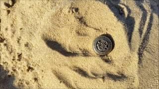 Пробный пляжный коп.