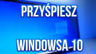 PRZYŚPIESZ WINDOWSA 10 w GRACH! - poradnik 2019.