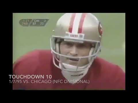Every Steve Young Postseason Touchdown