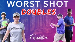 Forehand/Backhand Worst Shot Doubles - McBeths vs Foundation