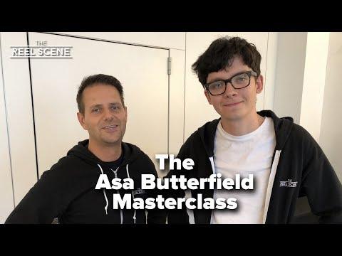 Asa Butterfield duces his 2018 Masterclass
