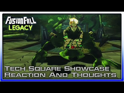 Fusionfall Legacy - Tech Square Showcase Reaction/Thoughts