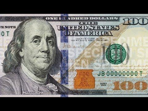 مميزات ورقة 100 دولار الجديدة وكيفية كشف المزورة منها The New 100 Note Youtube