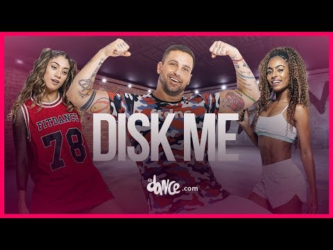 Disk Me - Pabllo Vittar | FitDance TV (Coreografia) Dance Video