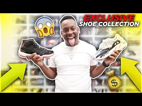 DAMIEN $50,000 SNEAKER COLLECTION!!