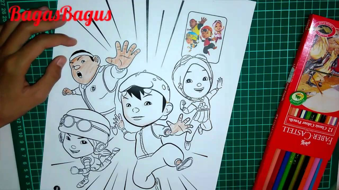 🎨Mewarnai Boboiboy and Friend choki Part 4⃣
