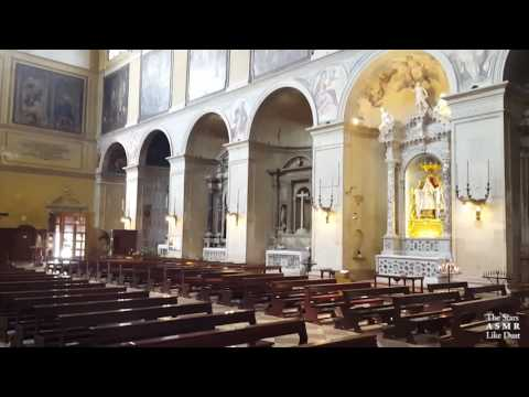 [ASMR ITA+ENG] A Church in Italy / Una Chiesa in Italia | Whispering, Ambient Sounds - Version #1
