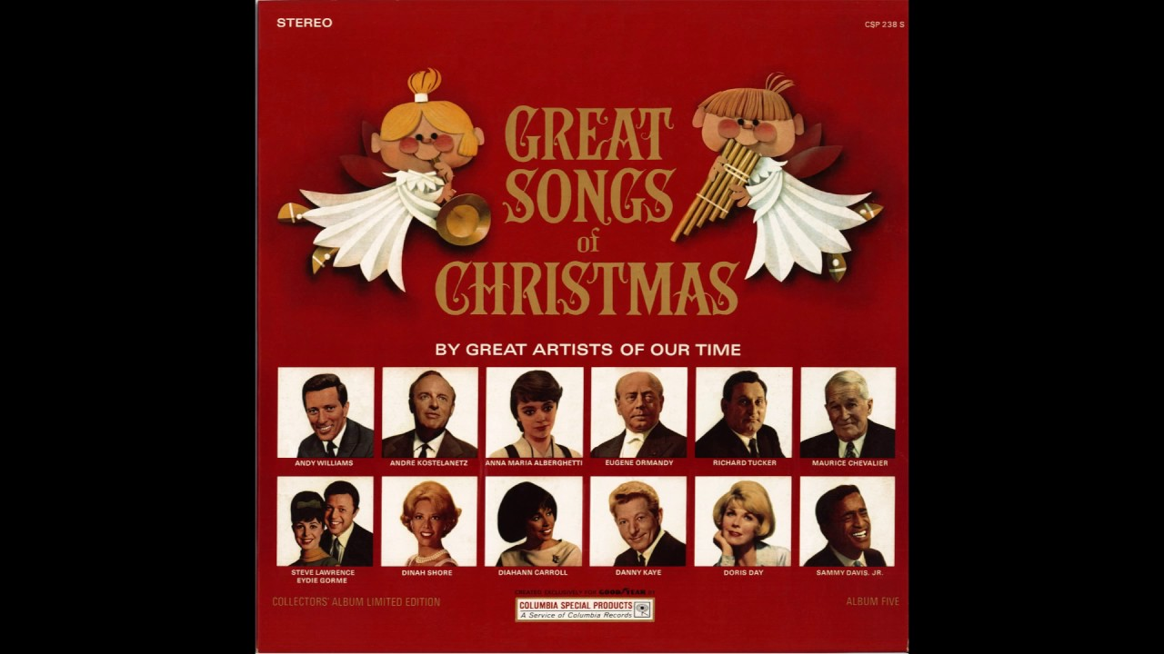 the great songs of christmas album five goodyear 1965