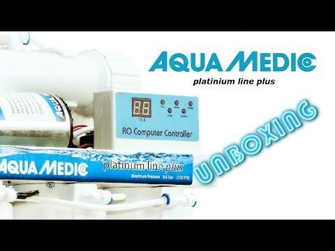 AQUA MEDIC  - RO Platinum Line Plus - UNBOXING