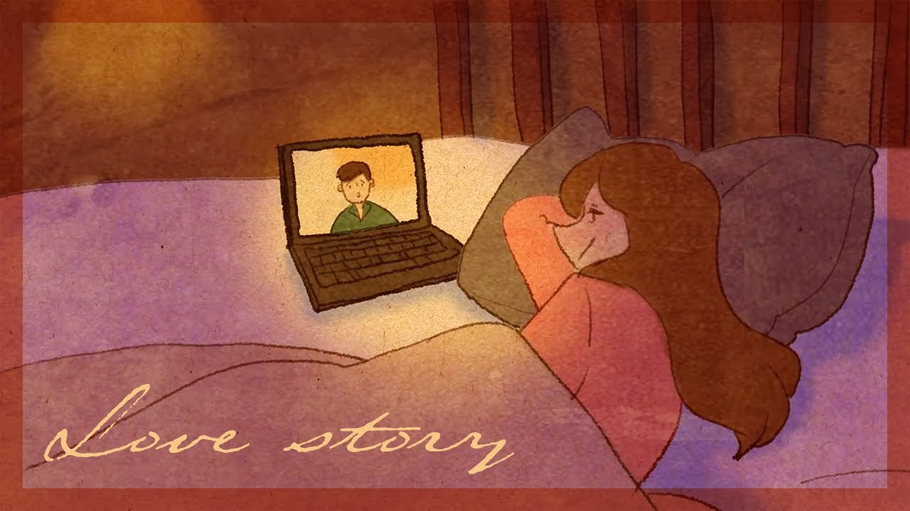 A Short Animated Love Story Long Distance Relationship Love Is All Around Ep05 Youtube