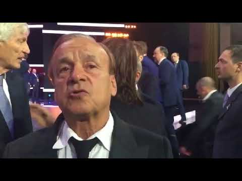 Rohr Reacts To Super Eagle's Russia 2018 Draw (Video)