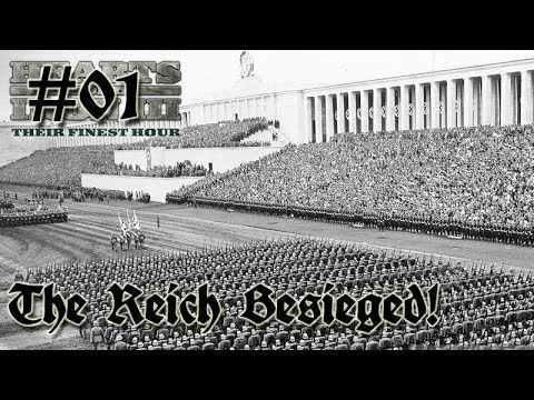 Hearts of Iron 3: Black ICE 9.1 - 01  (Germany) Setting Up & Getting started