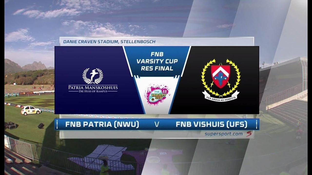 FNB Varsity Cup Res Final | Patria (NWU) vs Vishuis (UFS)