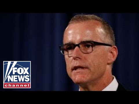 FBI's Andrew McCabe fired, DOJ releases statement